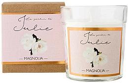Parfums et Produits cosmétiques Bougie parfumée, Magnolia - Ambientair Le Jardin de Julie Magnolia
