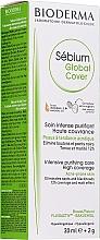 Parfums et Produits cosmétiques Crème purifiante couvrante à l'acide silicique pour le visage - Bioderma Sebium Global Cover Cream