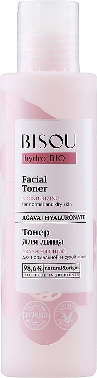 Lotion tonique à l'agave pour visage - Bisou Hydro Bio Facial Toner