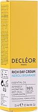 Parfums et Produits cosmétiques Crème de jour à l'huile d'avocat et beurre de karité - Decleor Neroli Bigarade Rich Day Cream Travel Size
