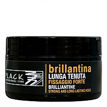 Parfums et Produits cosmétiques Cire coiffante - Black Professional Line Brilliantine Strong And Long Lasting Hold