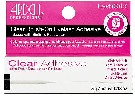 Colle pour faux cils - Ardell Clear Brush-on Eyelash Adhesive — Photo N1