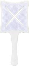 Parfums et Produits cosmétiques Brosse démêlante - Ikoo Paddle X Classic Platinum White