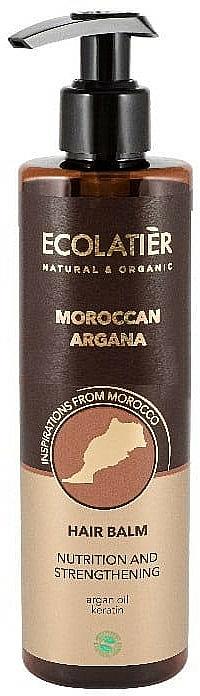 Baume à l'huile d'argan pour cheveux - Ecolatier Moroccan Argana Hair Balm