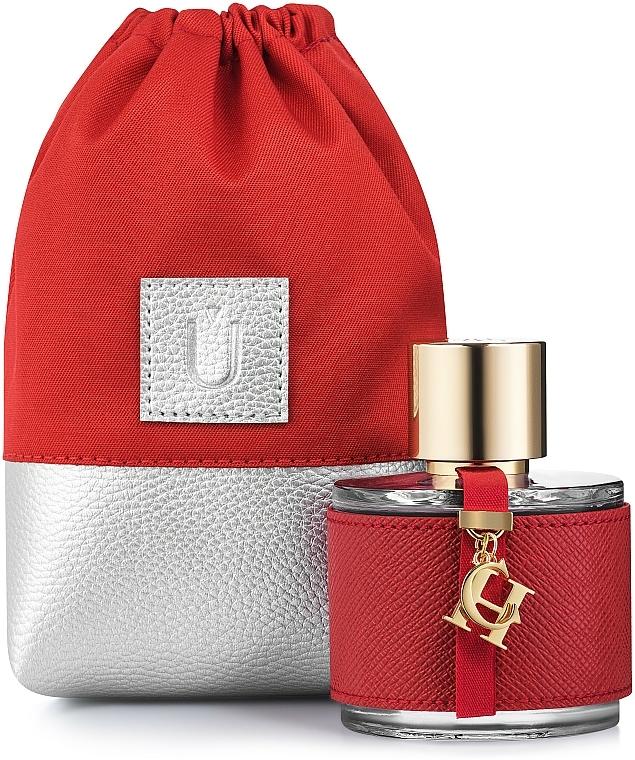 Pochette universelle rouge pour parfum Perfume Dress - MakeUp