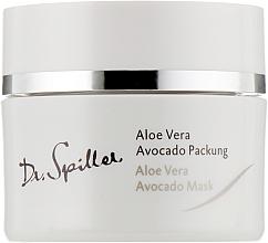 Parfums et Produits cosmétiques Masque crème à l'aloès et à l'avocat pour visage - Dr. Spiller Biomimetic Skin Care Aloe Vera Avocado Mask