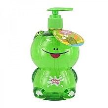 Parfums et Produits cosmétiques Gel de bain pour enfants à l'arôme de sucette de raisin, Grenouille - Chlapu Chlap Bath & Shower Gel