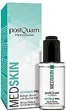 Parfums et Produits cosmétiques Peeling-sérum chimique à l'acide glycolique pour visage - PostQuam Med Skin Glycolic Peeling Serum