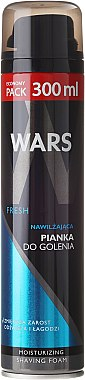 Mousse à raser à l'allantoïne - Wars Fresh Moisturizing Shaving Foam