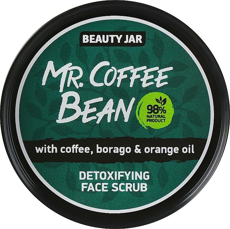 Gommage au café et huile d'orange pour visage - Beauty Jar Detoxifying Face Scrub