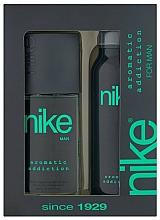 Parfums et Produits cosmétiques Nike Men Aromatic Addiction - Set (déodorant/200ml + déodorant spray/75ml)
