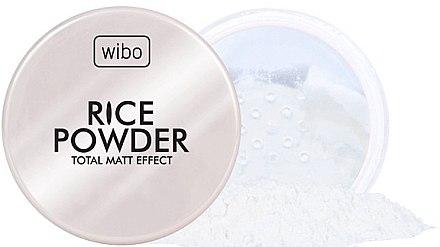Poudre libre de riz pour visage - Wibo Rice Powder