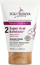 Parfums et Produits cosmétiques Gommage à l'huile de coco et açaï pour visage - Eco by Sonya Super Acai Exfoliator