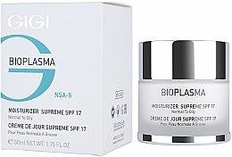 Parfums et Produits cosmétiques Crème à l'extrait d'algues pour visage - Gigi Bioplasma Moist Oil SPF-17