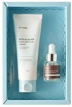 Parfums et Produits cosmétiques Coffret cadeau - iUNIK Beta Glucan Edition Skin Care Set (cr/60ml + ser/15ml)
