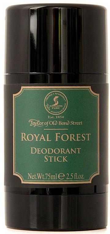 Taylor of Old Bond Street Royal Forest - Déodorant stick sans aluminium