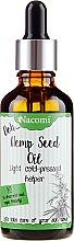 Parfums et Produits cosmétiques Huile de graines de chanvre pressée à froid avec pipette - Nacomi Hemp Seed Oil