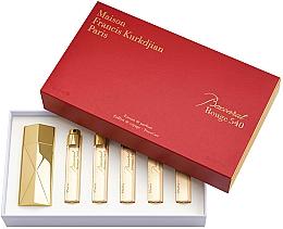 Parfums et Produits cosmétiques Maison Francis Kurkdjian Baccarat Rouge 540 - Coffret (extrait de parfum/5x11ml)