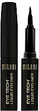 Parfums et Produits cosmétiques Eyeliner feutre - Milani Eye Tech Liquid Eye Liner