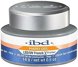 Parfums et Produits cosmétiques Gel de construction UV/LED, rose - IBD French Xtreme Pink Gel