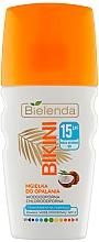 Parfums et Produits cosmétiques Brume solaire à l'eau de noix de coco pour visage et cheveux - Bielenda Bikini Tanning Mist SPF 15