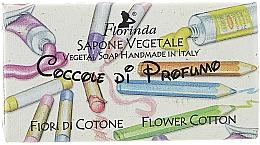 Parfums et Produits cosmétiques Savon végétal artisanal, Fleur de coton - Florinda Sapone Cotton Flower