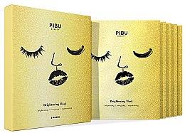 Parfums et Produits cosmétiques Coffret soin visage - Pibu Beauty Brightening Mask Set (masque visage/5x29ml)