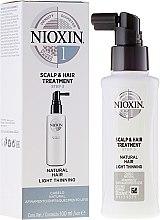 Parfums et Produits cosmétiques Soin du cuir chevelu pour cheveux fins - Nioxin Thinning Hair System 1 Scalp Treatment
