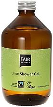 Parfums et Produits cosmétiques Gel douche à l'huile d'olive et jus de lime pour peaux sèches et sensibles - Fair Squared Lime Shower Gel