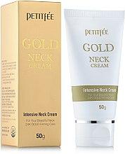 Parfums et Produits cosmétiques Crème à l'or 24K pour cou - Petitfee & Koelf Gold Neck Cream