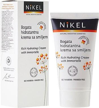 Crème à l'immortelle pour visage - Nikel Rich Hydrating Cream with Immortelle — Photo N1