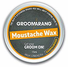 Parfums et Produits cosmétiques Cire à moustache et à barbe, Bois de Santal - Groomarang Moustache & Beard Wax Extra Strong Sandalwood