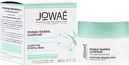 Parfums et Produits cosmétiques Masque minéral aux lumiphénols antioxydants et thé blanc pour visage - Jowae Masque Clarifying Mineral Mask