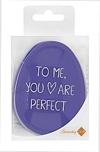 Parfums et Produits cosmétiques Brosse à cheveux démêlante, violet - Beauty Look Tangle Definer Petite Violet
