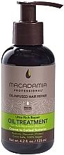 Parfums et Produits cosmétiques Soin réparateur à l'huile de macadamia et amande pour cheveux - Macadamia Professional Ultra Rich Repair Oil Treatment