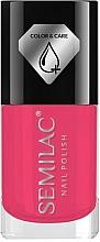 Parfums et Produits cosmétiques Vernis à ongles - Semilac Color&Care Nail Polish