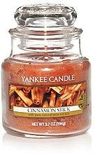 Parfums et Produits cosmétiques Bougie parfumée en jarre Bâton de cannelle - Yankee Candle Cinnamon Stick