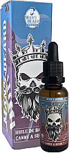 Parfums et Produits cosmétiques Huile à barbe parfumée Canne à sucre - Man'S Beard Huile De Barbe Senteur Canne A Sucre