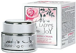 Parfums et Produits cosmétiques Crème à l'huile de rose bulgare pour visage - Bulgarian Rose Lady's Joy Nourishing Face Cream