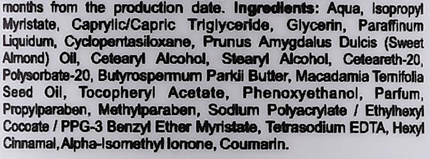 Lait à l'huile de macadamia pour corps - Silcare Quin Macadamia Oil Body Milk — Photo N2