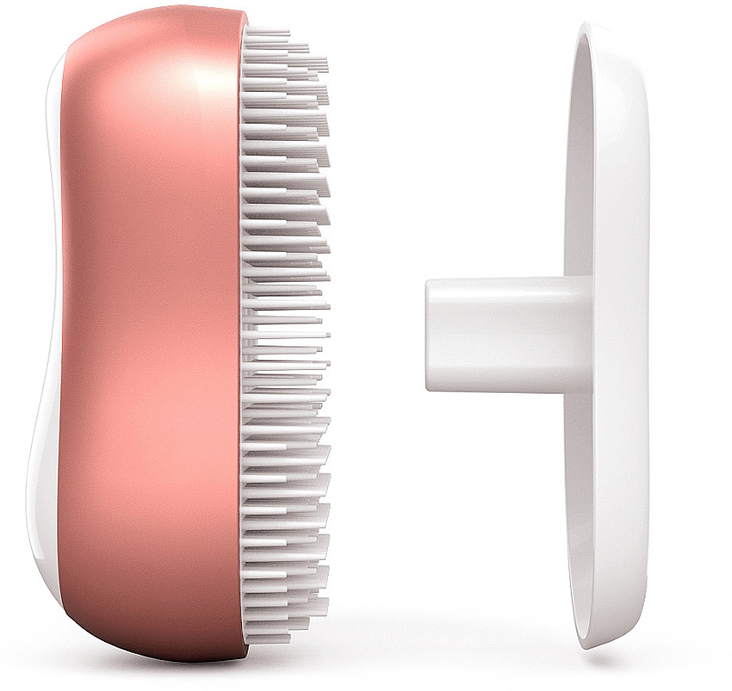Brosse à cheveux de tourmaline, or-rose - Cactus Barbora Rose Gold — Photo N2