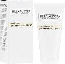 Parfums et Produits cosmétiques Crème anti-taches brunes pour mains - Bella Aurora M7 Anti Dark Spots Hand Cream SPF15