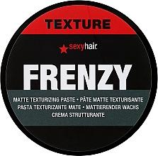 Parfums et Produits cosmétiques Pâte texturisante mate pour cheveux, fixation forte - SexyHair StyleSexyHair Frenzy Flexible Texturizing Paste