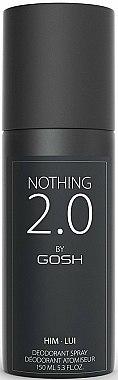 Déodorant spray pour corps - Gosh Nothing 2.0 Him