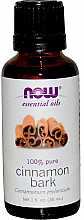 Parfums et Produits cosmétiques Huile essentielle de cannelle - Now Foods Essential Oils 100% Pure Cinnamon Bark