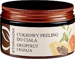 Parfums et Produits cosmétiques Gommage corporel sucré Pamplemousse et papaye - Bosphaera