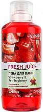 Parfums et Produits cosmétiques Mousse de bain à la fraise et cire rouge - Fresh Juice Strawberry and Red Bayberry