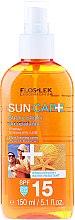 Parfums et Produits cosmétiques Huile sèche waterproof bronzante SPF15 - Floslek Sun Care Dry Oil Tanning Spray SPF15