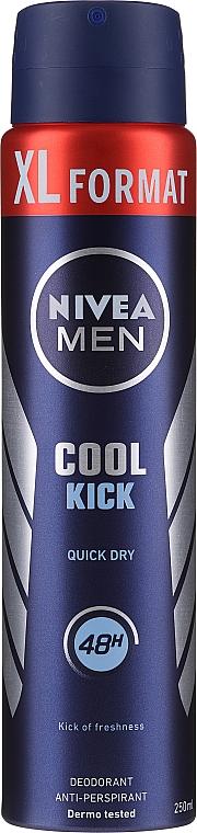 Déodorant spray anti-transpirant - Nivea Men Cool Kick Deo Spray
