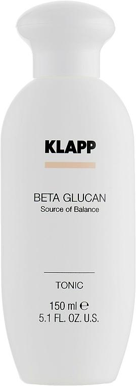 Lotion tonique au jus d'aloe vera - Klapp Beta Glucan Tonic — Photo N2